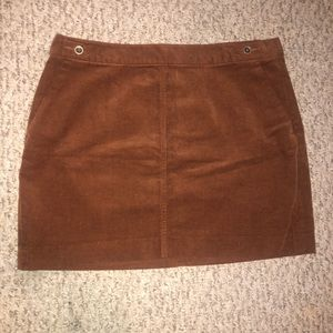 Banana Republic Corduroy Mini Skirt